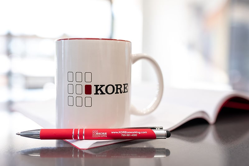 KORE Coffee Mug & Pen
